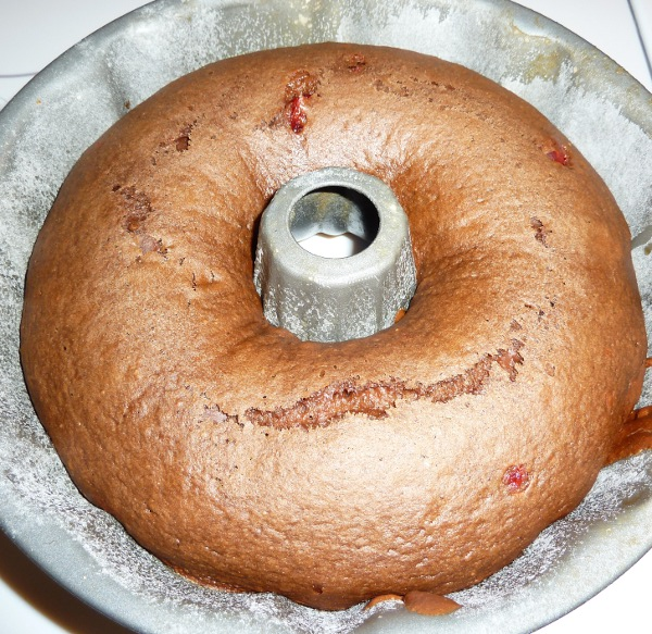 Miracle Whip Cake With Chocolate Icing