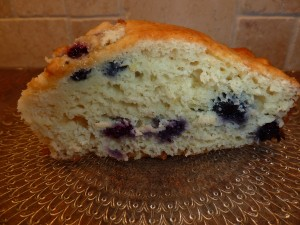 Lemon and Blueberry Yogurt Cake