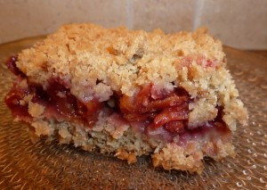 cherry oatmeal squares