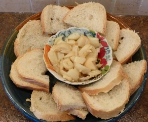 Roasted Garlic Spread - serve with crusty bread