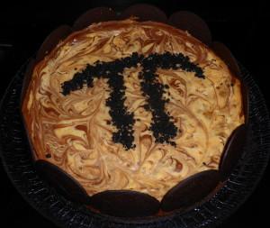 Chocolate Toffee Cheesecake