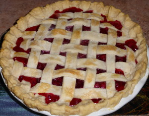 Lattice-top Raspberry Pie